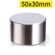 50x30mm Super Strong Magnets Rare Earth Disc Neodymium Magnets Round N35 Craft