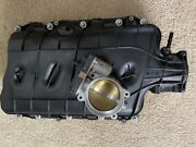Intake Manifold And Throttle Body For Chevrolet Gen V Lt1. Ported By Weapon X