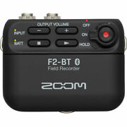 Zoom F2 Bt Field Recorder With Lavalier And Bluetooth Sync New