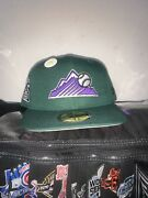 Hat Club Exclusive Rockies Size 7 3/4 Green Eggs And Ham Rare