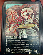 Jerry Garcia Signature Hand Signed 8 Track Tape Skeletons In The Closet - Rare