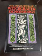 The Encyclopedia Of Witchcraft And Demonology, Warning Book Is Haunted.