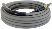 50 Ft 3/8 Gray Non-marking 4000psi Pressure Washer Hose With Quick Connectors
