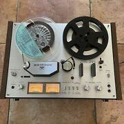 Vintage Akai Gx-4000d Reel-to-reel Tape Deck - For Parts As Is