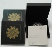 2021 The Queen's Beasts Completer Uk 2 Oz Silver Proof Coin, Coa No. 282