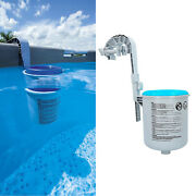 1pc Pool Wall Mount Surface Skimmer Swimming Pool Collect Floating Debris