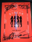 Sistar The Second Mini Album Touch N Move Autographed Signed Cd Great Promo