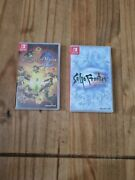 Saga Frontier Remastered And Legend Of Mana Remastered Switch Bundle.