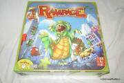 New Sealed Rampage Board Game 2013 3d Action Monsters Rare Terror Meeple City