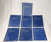 Lot Of 7 Different Whitman Blue Coin Folders Quarter Dime Nickel