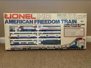 Lionel Ho American Freedom - Electric Diesel Train Set 2587 - Sealed Brand New