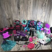 Monster High Lot Furniture Pieces And Parts As Is