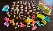 Lot Of 56 Littlest Pet Shop Animals And 29 Accessories. Some Rare