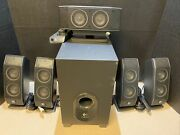 Logitech X-540 5.1 Surround Sound Speaker System With Subwoofer 60794 -tested