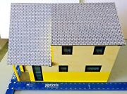 Unique Doll House Constructed Of Legoand039s 1/18 Scale Of 1949 Levitt Rancher.