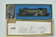 Western Maryland Alco Rs-3 Locomotive 180 Roundhouse 2381 New Gears Ho Kit