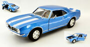 Model Car Scale 118 Chevrolet Camaro Z 28 Vehicles Diecast Collection