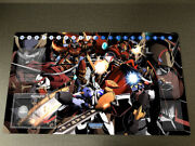 Anime Dtcg Playmat Digimon Trading Card Game Mat Tcg Ccg Mat Free Bag With Zones
