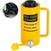 20t/30t/60t 100mm Hollow Plunger Hydraulic Cylinder Jack Heavy Duty Lifting Tool