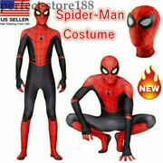 Spider-man Far From Home Kid Adult Peter Jumpsuit Cosplay Costume Party Zentail