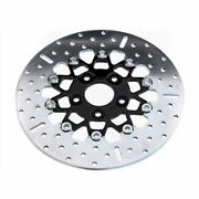 Ebc 10-button Wide Band Floating Rear Brake Rotor - Rsd019blk