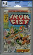 Iron Fist 14 Cgc 9.6 White Pages 1st Sabretooth First