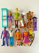 1999 8 Scooby Doo Collectible Equity Action Figures Set Lot Fred Velma Daphne