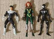 Lot Of 3 Marvel Figures-north Star Alpha Flight, Hope Summers X-men And Spidey