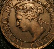 Old Canadian Coins 1895 Canada Large Cent Highgrade Sharp Beauty