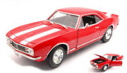 Model Car Scale 118 Lucky Diecast Chevrolet Camaro Z28 Vehicles Road