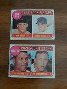1969 Topps Rookie Stars Cards 476 And 567