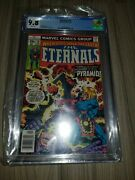 Marvel Comics Cgc 9.8 Eternals 19 1st Pyramids Of The Wind Final Issue