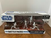 Star War The Clone Wars/ Battle Packs/at-te Assault Squad Action Figure 3.75
