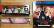 Ps4 Dead Or Alive 5 Last Round Strongest Package Sound Track Book Japanese W/box