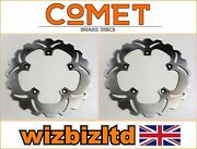 Yamaha Xp 530 A T-max 2017-2020 [pair Of Comet Front Brake Discs] [stainless Ws]