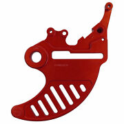 Bullet Proof Designs Rear Disc Guard Red