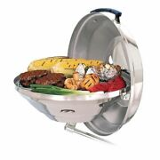 Magma Marine Kettle Charcoal Grill - Party Size 17   Stainless Steel Portable