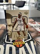2005 Upper Deck Rookie Of The Year Lebron James 23/23 Jersey Number Cavaliers