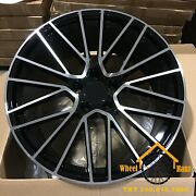 22'' Rims For Porsche Cayenne S / Gts / Coupe / Panamera Set Of 4