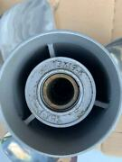 Stainless Steel Prop 13 X 19 Yamaha Outboard Moto 50-130hp 3 Blade 15 Tooth Rh