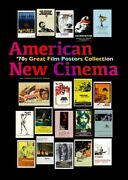 American New Cinema 70s Great Film Posters Collection Movie Book P248 Japan New