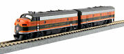 Kato 106-0420-dcc N Great Northern Emd F7a And F7b Diesel With Dcc 444a,444b