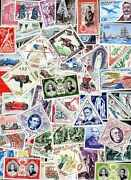 Monaco 2500 Stamps Different New And Obliterated