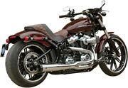 Sands Superstreet 2-into-1 Exhaust System Chrome 550-0847b Harley Davidson