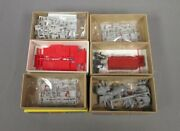 Walthers Ho Scale Great Circus Train Accessory And Wagon Kits [6]/box