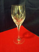 Mikasa Crystal, Olympus [1987-2019] 9 Tall Water Goblet In Excellent Condition