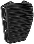 Rsd Nostalgia Timing Cover Black Anodized For 01-14 Twin Cam Models 0177-2001-b