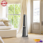 Portable Electric Oscillating Stand Up Bladeless Tower Fan With Remote Control