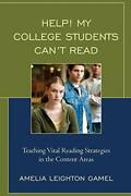 Help My College Students Cant Read Teaching , Gamel.+