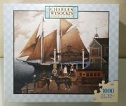 Charles Wysocki 1000 Pc. Puzzle Captain Kirby Beemish Liverpoole Mb 04679-d24